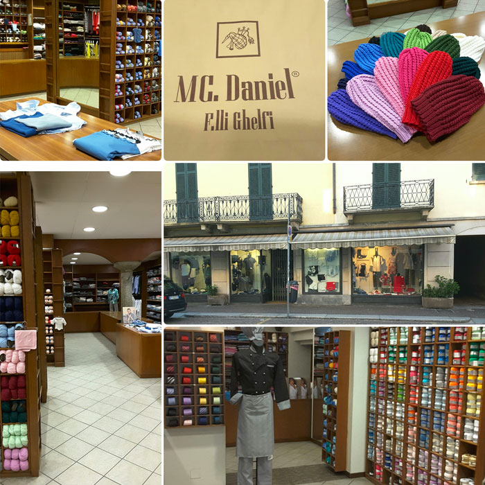 Shopping in Como - Yarn Ghelfi
