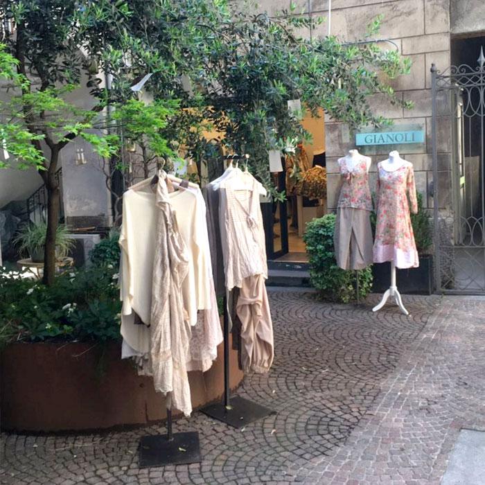 Gianoli, Womenswear shop in Como
