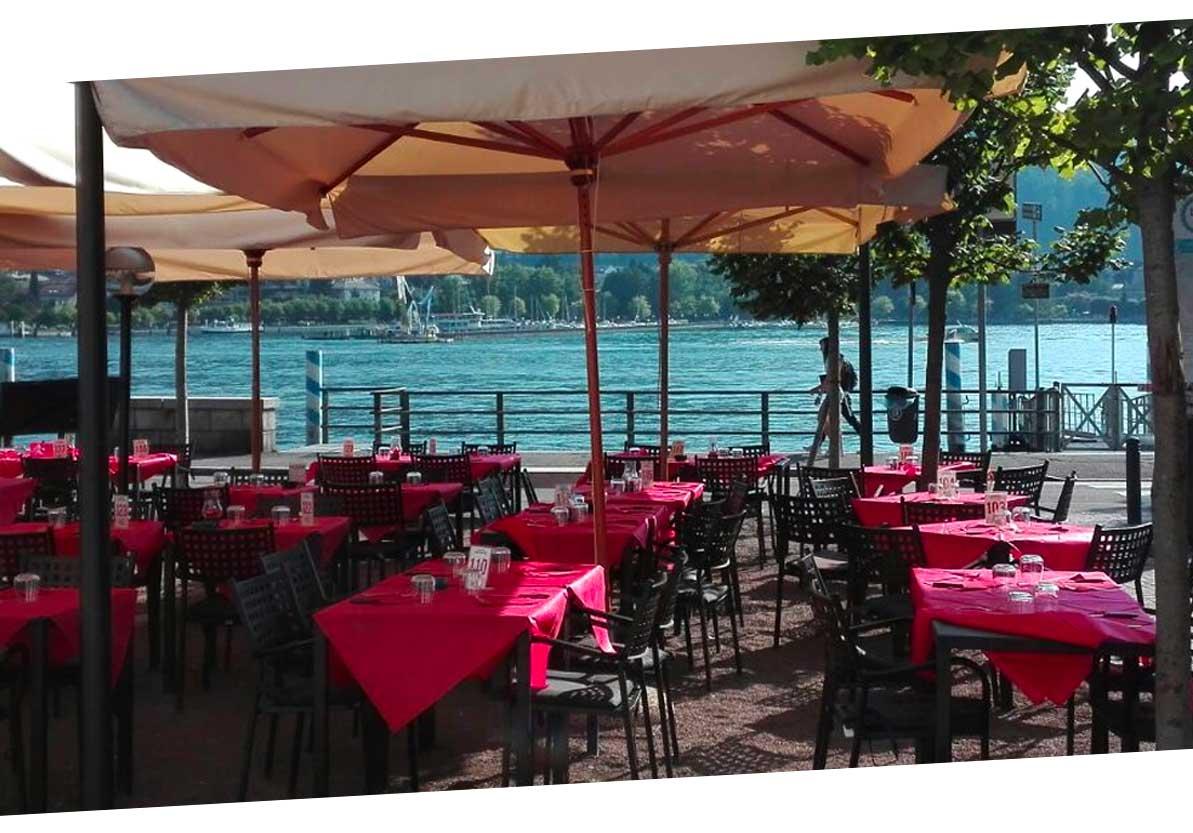 restaurants on lake como