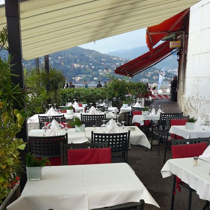 Al Lungolago Restaurant in Como