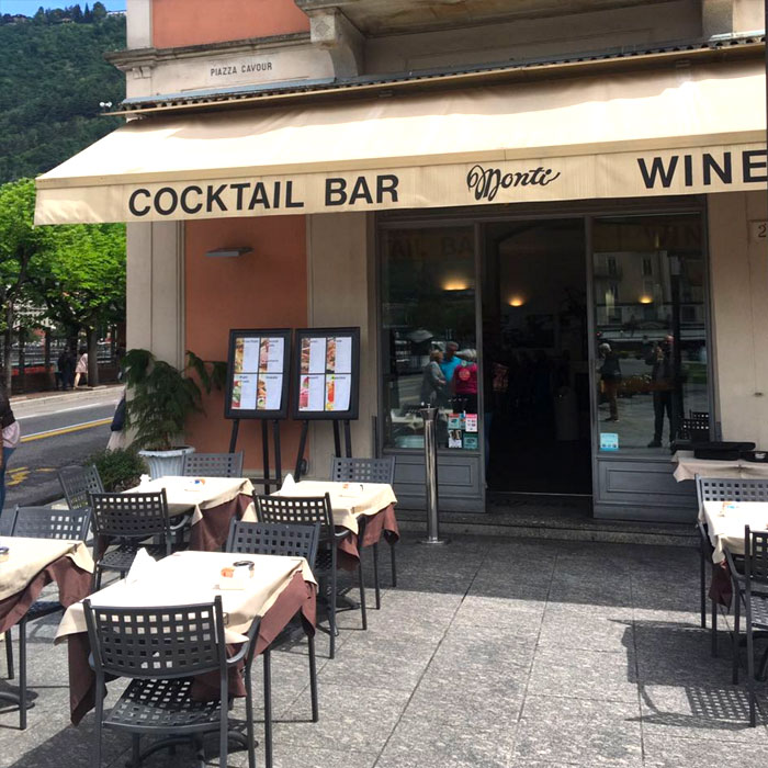 Coffee Shop in Como, Monti
