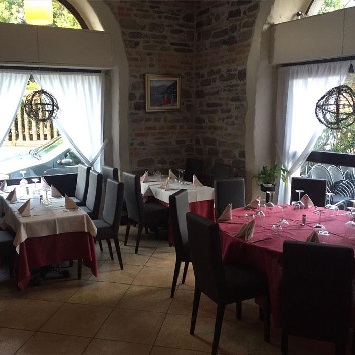 Restaurant Vecchio Borgo in Como, Como lake