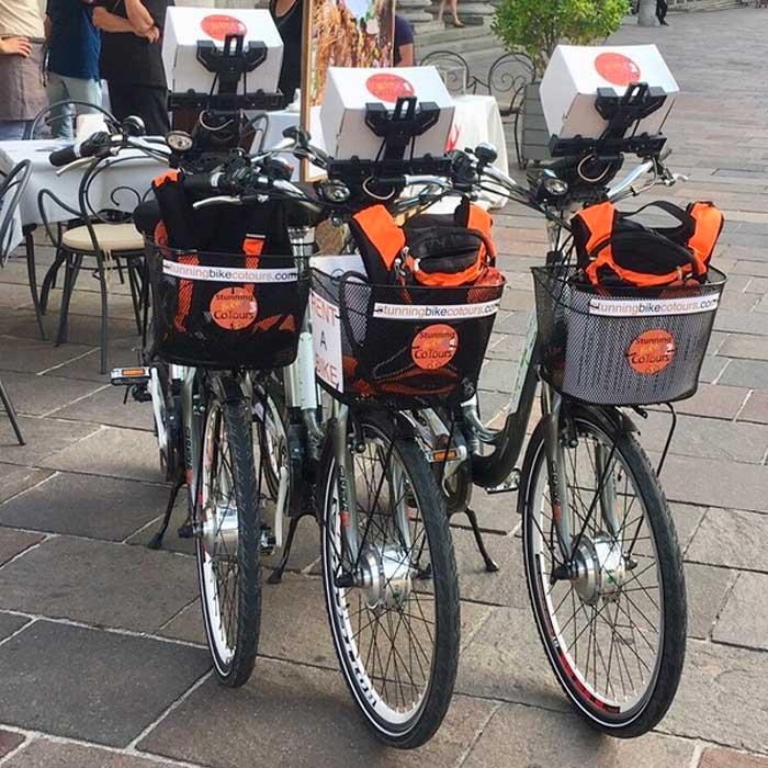 Bike Tours in Como Lake