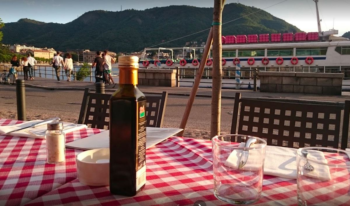Restaurant Borgo S. Agostino in Como