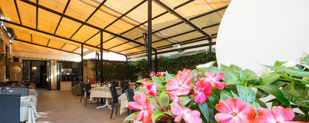 Restaurant Giardino in Cernobbio, Como lake