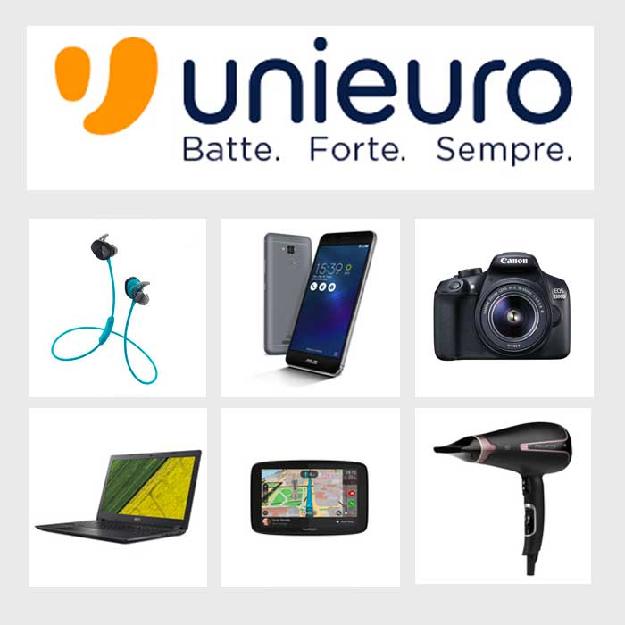 Electronic shop in Como