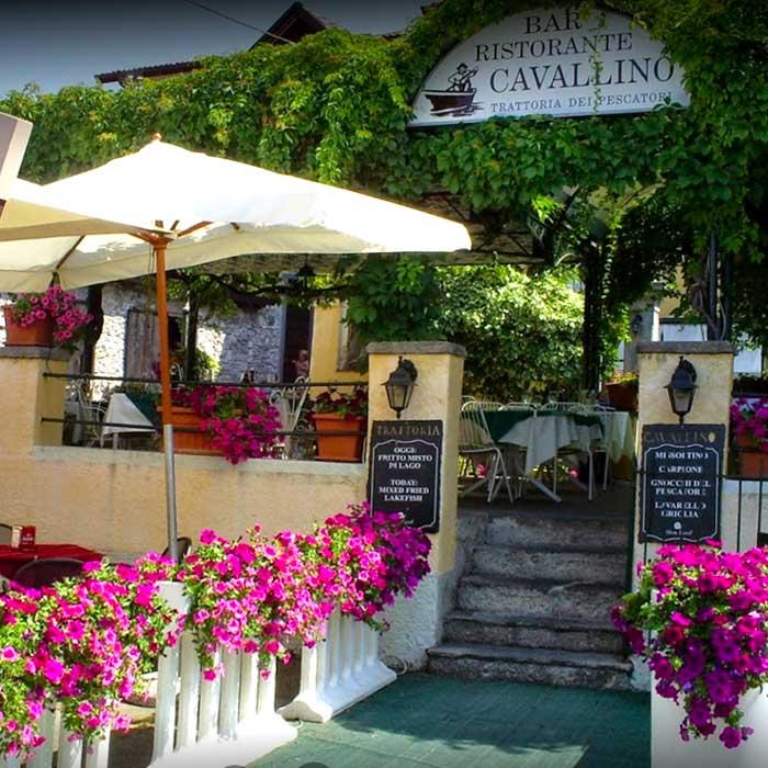 Restaurant Cavallino in Varenna
