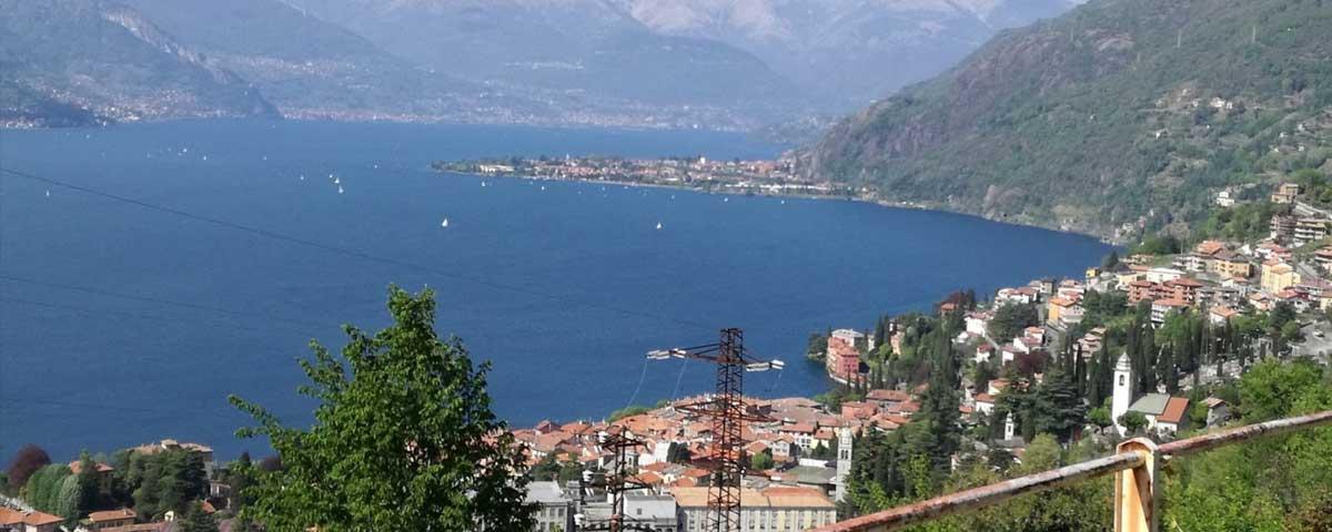 Crotto di Biosio Bellano Como Lake view