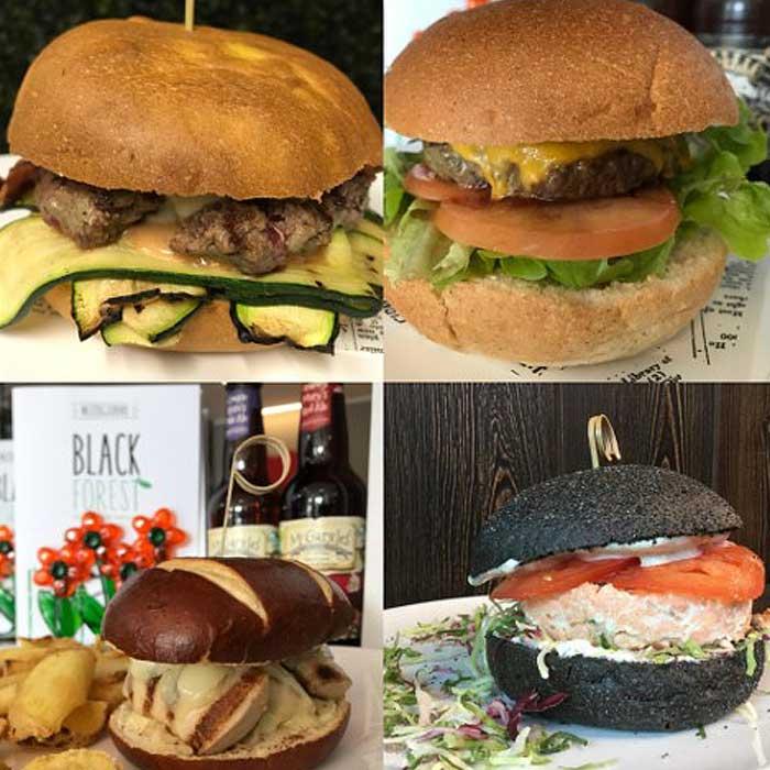Black Forest, burgers in Erba, como