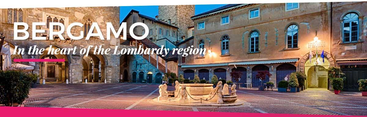 Bergamo, in the heart of the Lombardy region