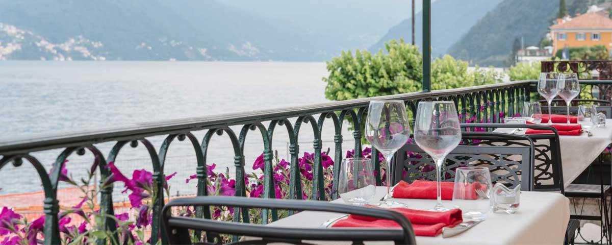 Restaurant il sorriso Argegno Lake Como