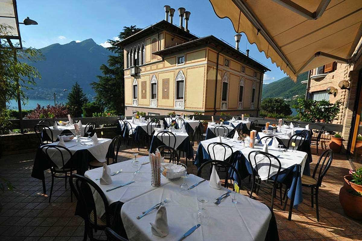 Restaurant Vapore, Faggeto Lario