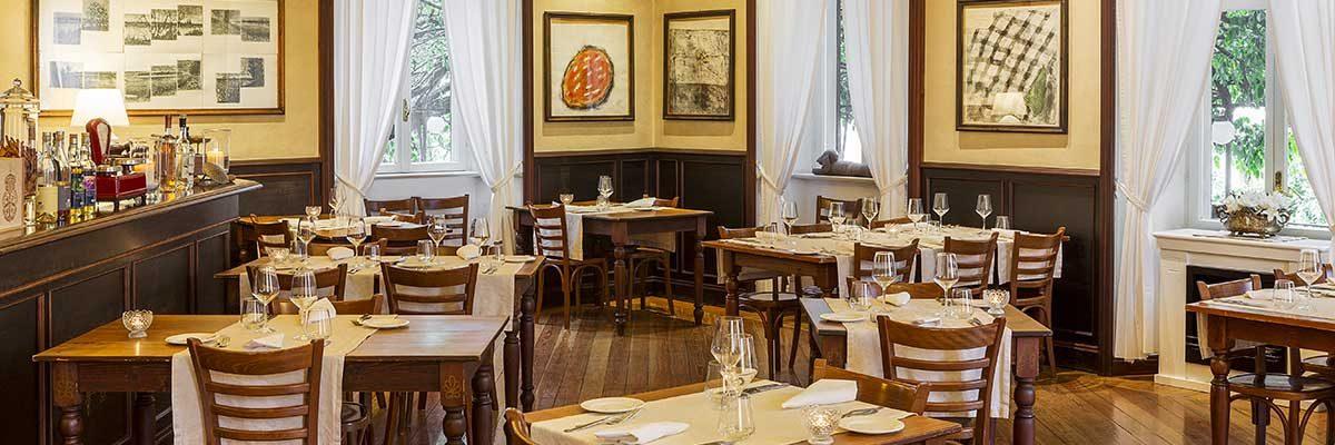 Restaurant Il Glicine in Cernobbio, Como Lake